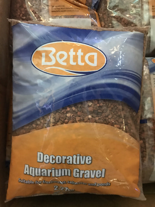 Betta Aquarium Gravel Pink Flamingo 2.27kg.