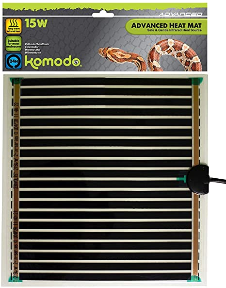 Komodo Advanced Heat Mat 15W (276x274mm).