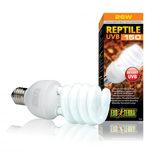 Exo Terra Reptile UVB150 Compact Lamp 26w.