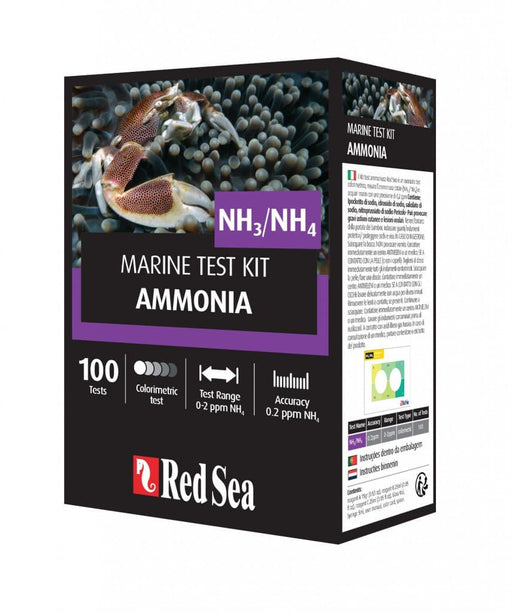 Red Sea Marine Test Kit Ammonia.