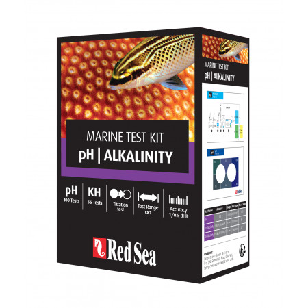 Red Sea PH & Alkalinity Test Kit.