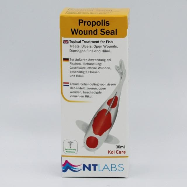 Ntlabs Koi Care Propolis Wound Seal 30ml.