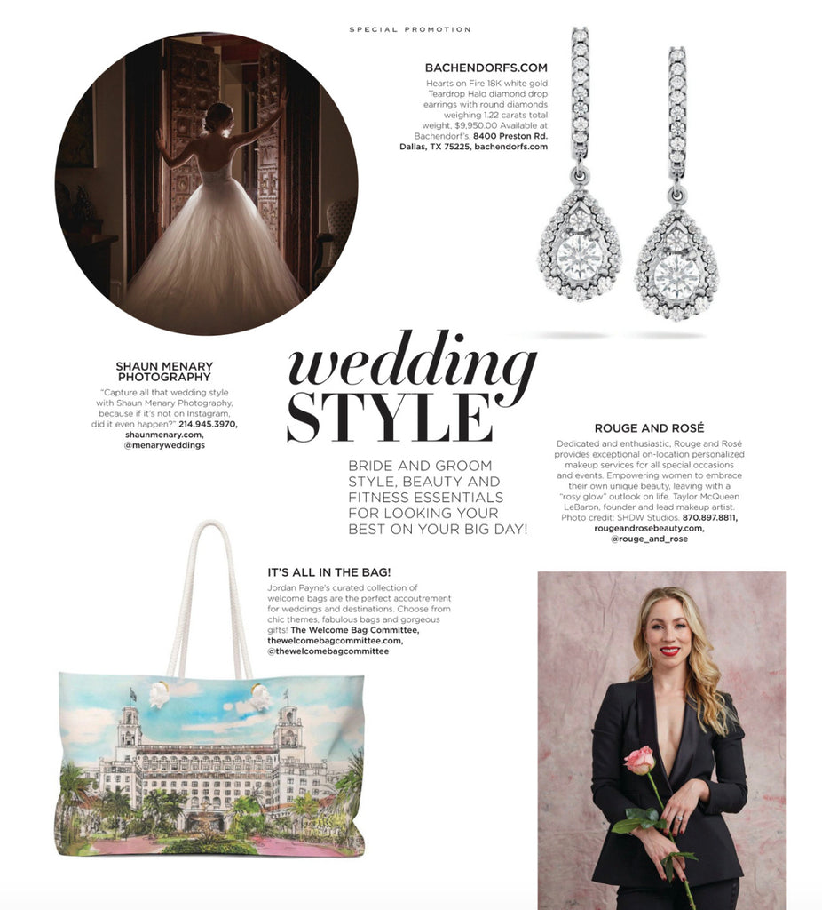 AS SEEN IN MODERN LUXURY BRIDES