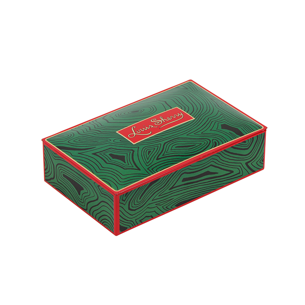 Malachite 12 Piece Chocolate Tin