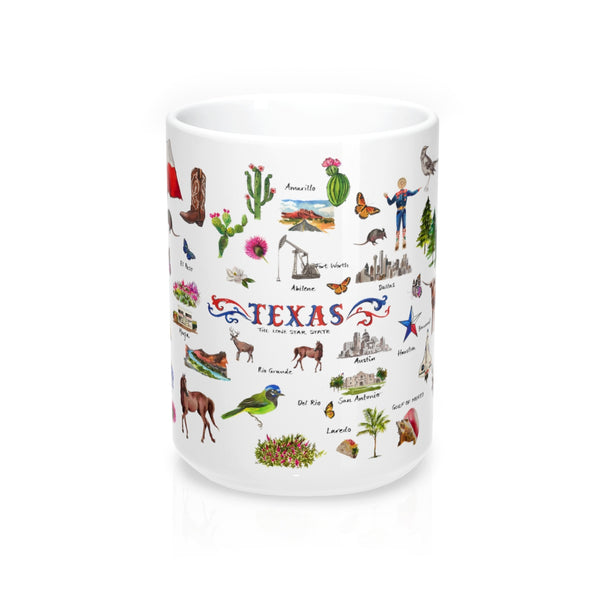 I Love Texas Mug 15oz