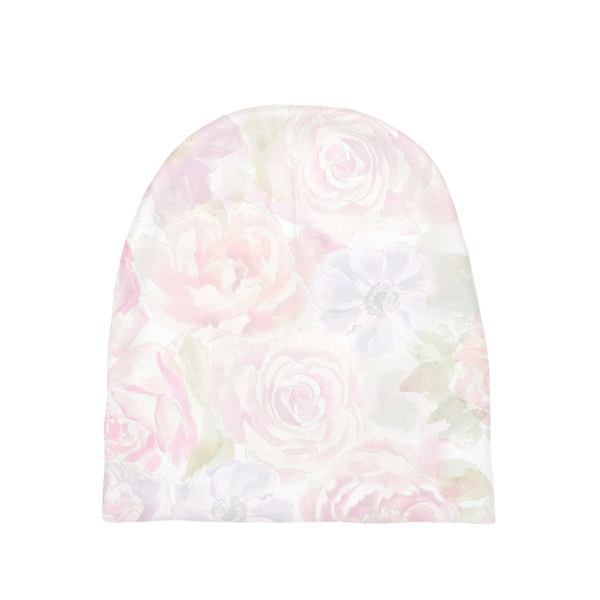 Shelby Floral Girl Baby Beanie