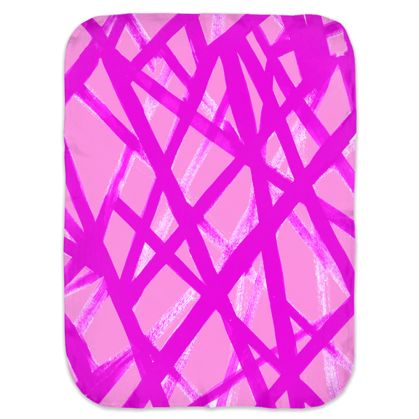 HOT PINK GRAFFITI SWADDLE BLANKET