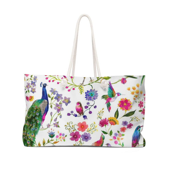Couture Birds Weekender Tote