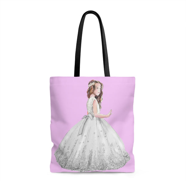 Flower Girl Tote Bag Style 3