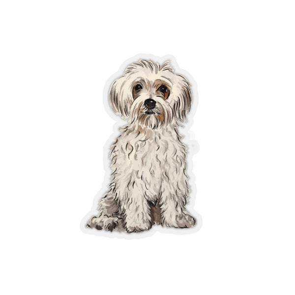 Maltipoo Blonde REMOVABLE Sticker