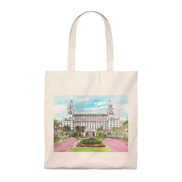 The Breakers Palm Beach Tote Bag - Vintage