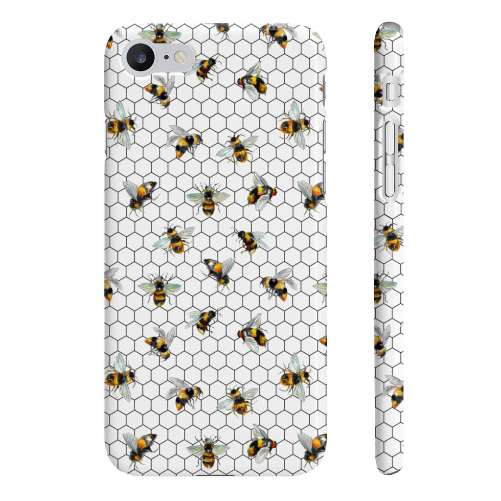 Bee Hexagon Wpaps Slim Phone Case