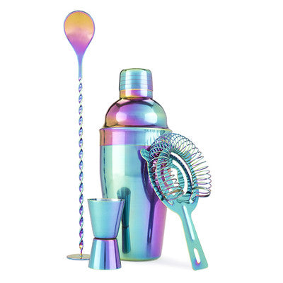Mirage Rainbow Barware Set