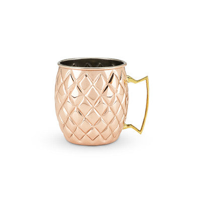 Old Kentucky Home Copper Pineapple Mug