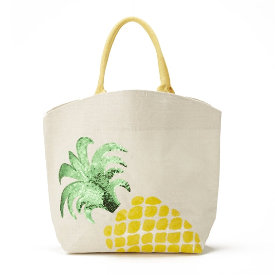 Palm Beach Pineapple Tote
