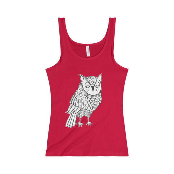 Owl Jersey Tank- 4 Colors
