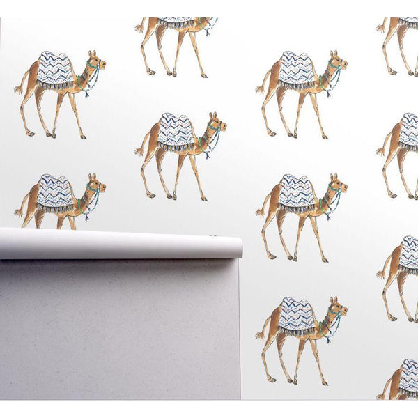 CAMEL IN VOGUE DESIGNER WALLPAPER