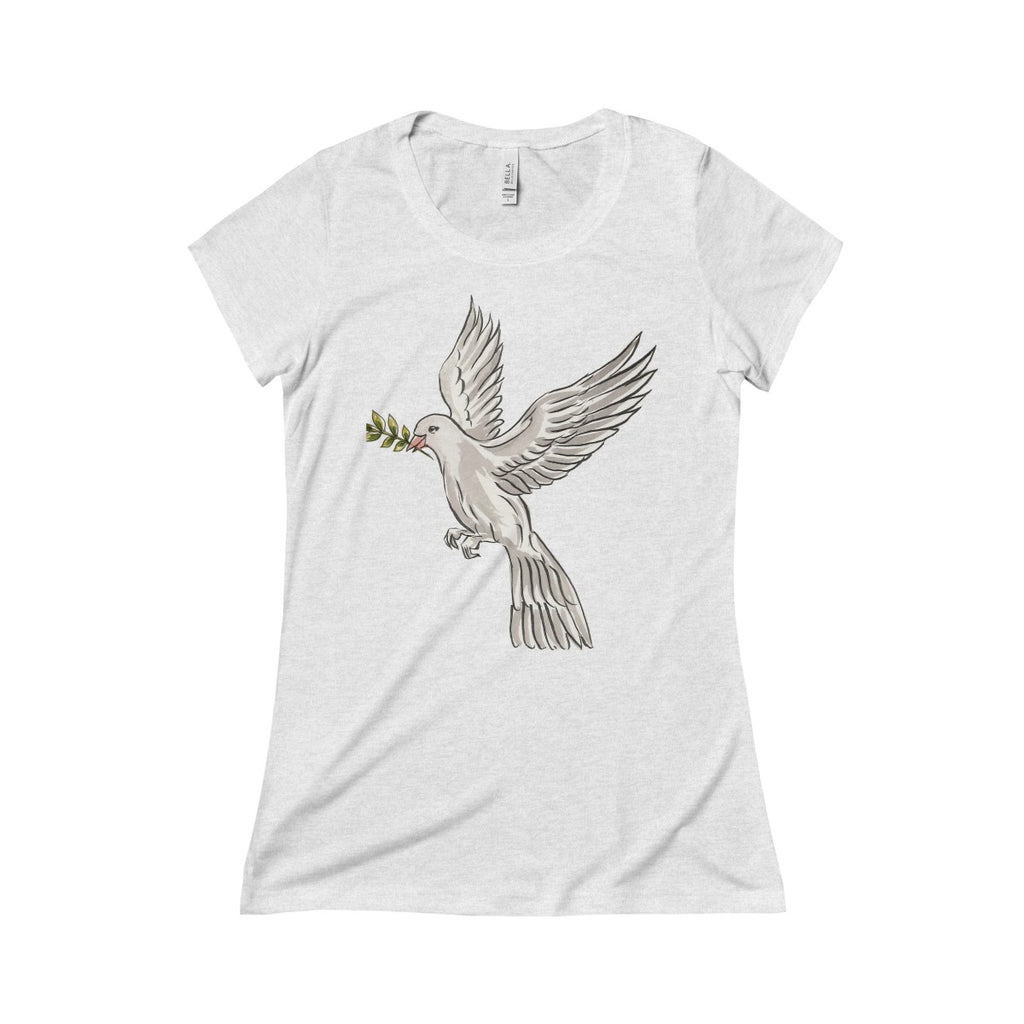 Dove (Sigma Kappa) Triblend Short Sleeve Tee