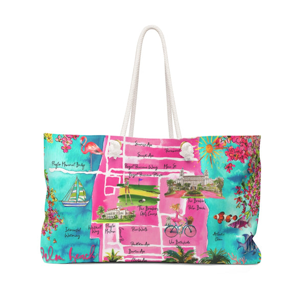 PALM BEACH ICONS Weekender Tote