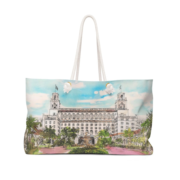 The Breakers Palm Beach Weekender Tote