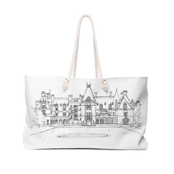 The Biltmore Estate B&W Weekender Tote