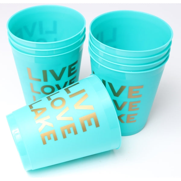 Live Love Lake Cups