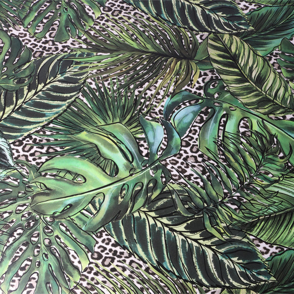 Palm Leopard Gift Wrap