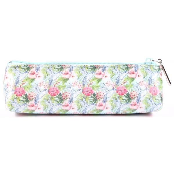 Floral Hummingbird Long Pouch