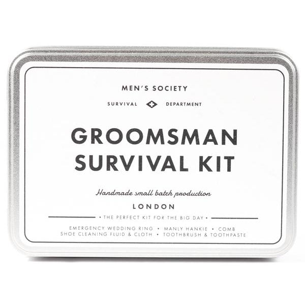 Groomsman Survival Kit