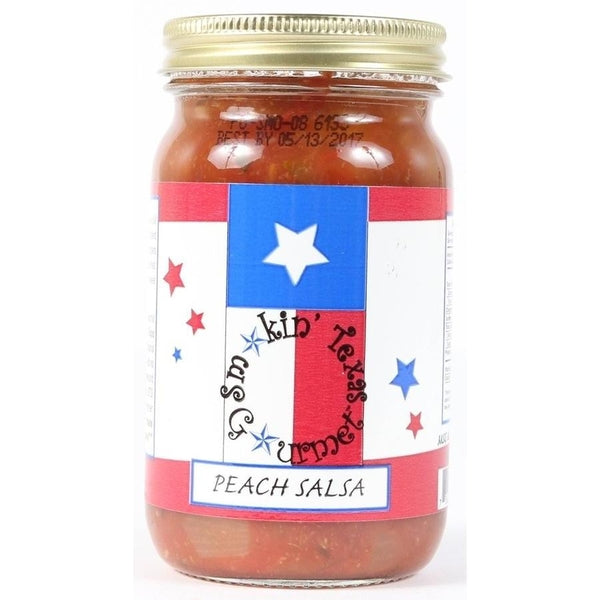 Smokin Texas Gourmet Peach Salsa
