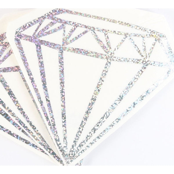 Die Cut Diamond Napkins