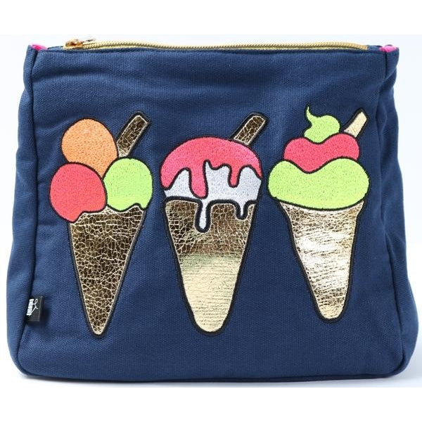 Ice Cream Toiletry Pouch
