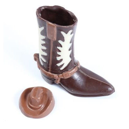Cowboy Boot & Hat Chocolate