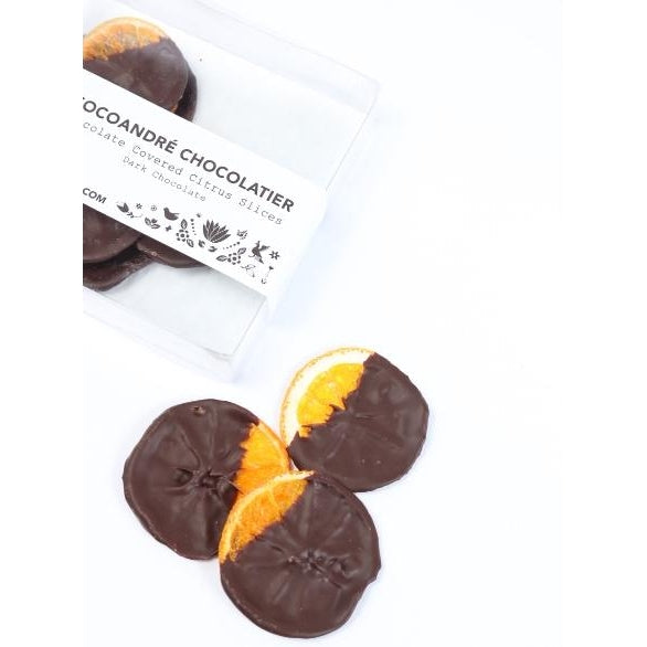 Chocolate Covered Citrus Slices