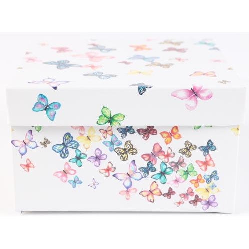 Butterfly Box with Bellyband & Die Cut Tag