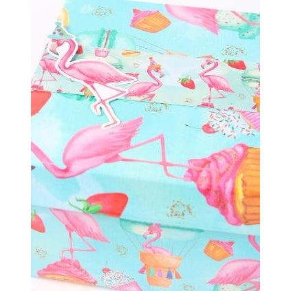 Fran the Birthday Flamingo Box with Bellyband & Die Cut Tag
