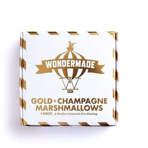 Wondermade Gold Champagne Marshmallows