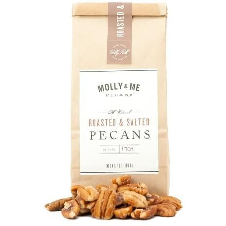 Molly & Me Roasted Salted Pecans