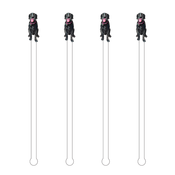 BLACK LAB ACRYLIC STIR STICKS