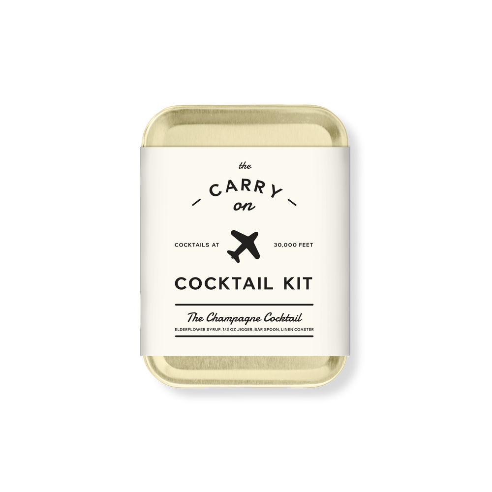 Carry On Cocktail: The Champagne Cocktail
