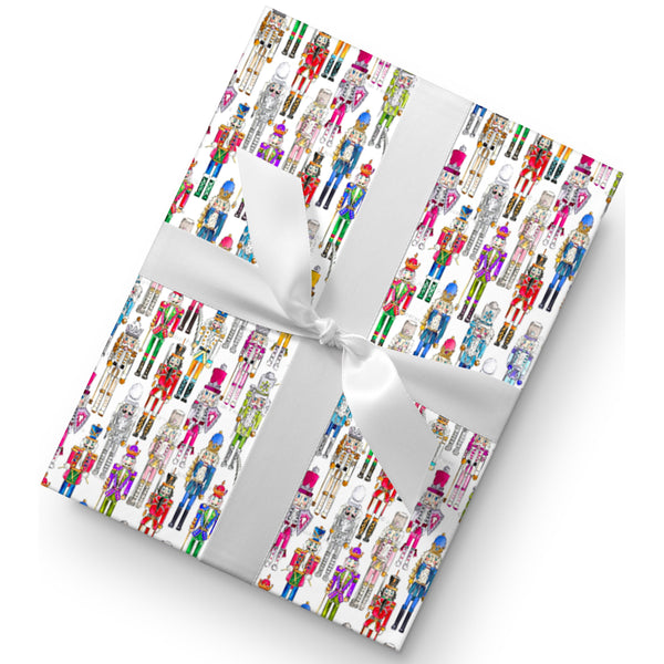 NUTCRACKERS GIFT WRAP
