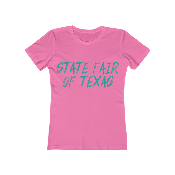 STATE FAIR OF TEXAS GRAFFITI TEE Women's The Boyfriend Tee