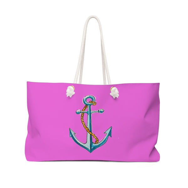 Anchor Hot Pink Weekender Tote