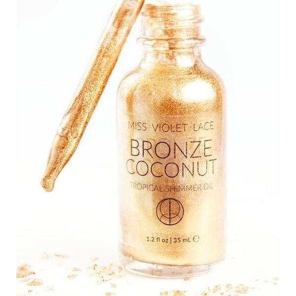 Bronze Coconut Tropical Shimmer Oil