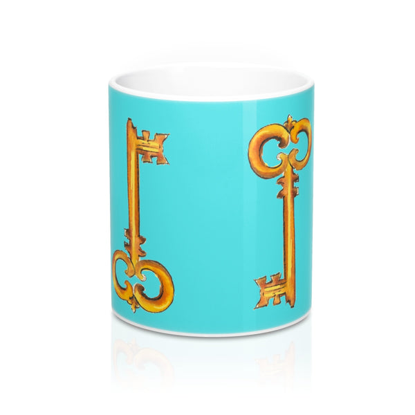 Golden Key Mug 11oz