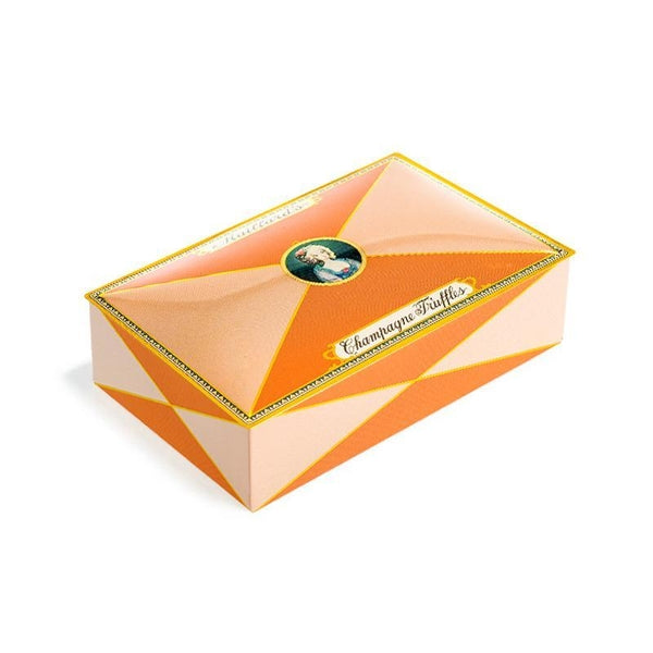 Champagne Truffles 12 Piece Chocolate Tin