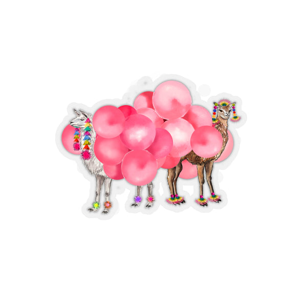 Balloon Llamas REMOVABLE Sticker