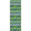 Blue & Lime Chinois Gift Wrap