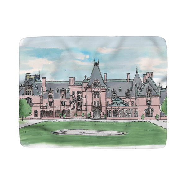 The Biltmore Estate Fleece Sherpa Blanket
