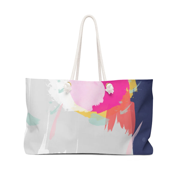 Abstract Weekender Tote